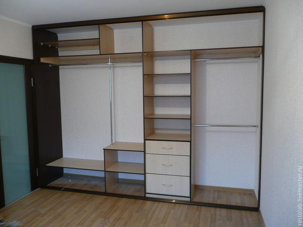 встроенные шкафы в стену фото