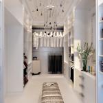 Белая гардеробная комната. Пример Шкафа-гардероба на заказ