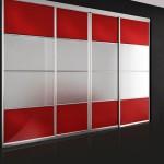 Шкаф купе ширина 4 метра фото. Стильный шкаф купе со вставками из стекла Oracle
