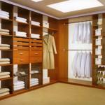 Недорогой гардероб в квартиру. Пример недорогой гардеробной комнаты на заказ