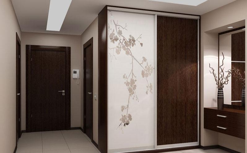 Шкафы купе в коридор фото
