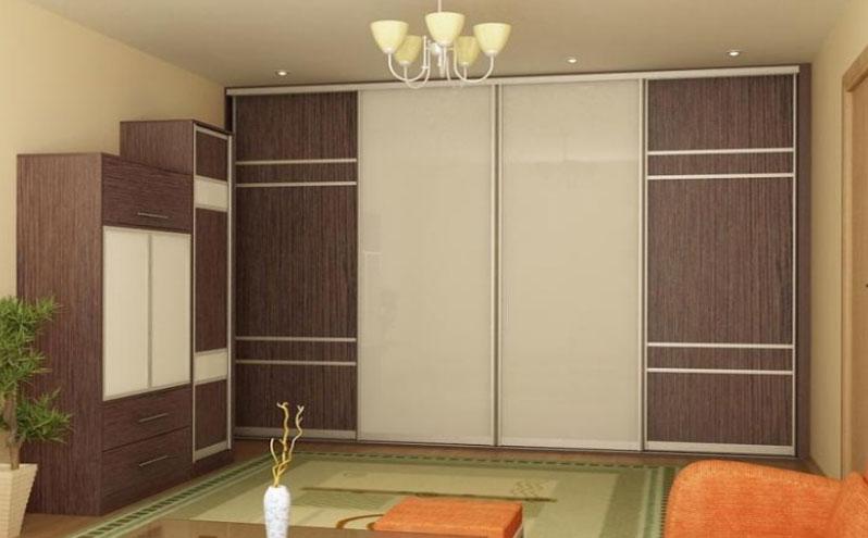 Шкафы купе для гостиной фото